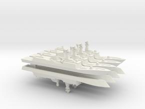 PLA[N] 054A x 8, 1/2400 in White Natural Versatile Plastic
