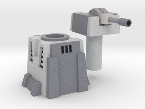 Imperial Rapid Fire Turret Lvl 3 (swiveling) in Full Color Sandstone