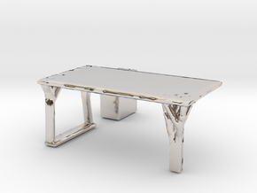 Flexible Table  in Platinum