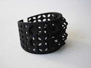 Bracelet Petale  in Black Natural Versatile Plastic
