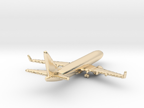 Boeing 737-800 in 14K Gold