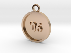 Founding Consultant in 14k Rose Gold Plated Brass