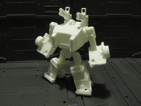OUTLAND - transforming to robot from off load car in White Strong & Flexible