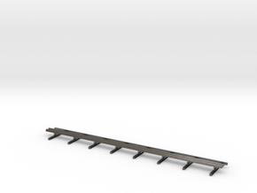 Guard Rail 1:50 Motorway in Polished Nickel Steel