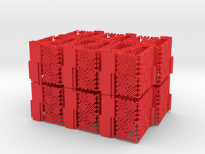 Ruff 24 Piece Assembly in Red Processed Versatile Plastic