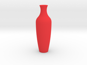 Amphor Vase Large in Red Processed Versatile Plastic