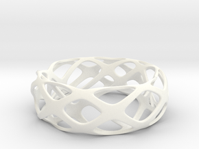 Frohr Design Bracelet 2-10-15-1 in White Processed Versatile Plastic