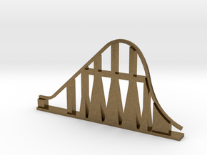 Millennium Force Roller Coaster in Natural Bronze
