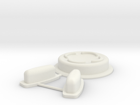Vortex Manipulator Touch (mk2) Buttons in White Natural Versatile Plastic