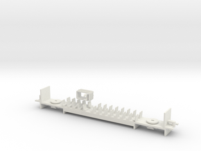 AU/N.02B - Part B - V/Line V'Locity DMU Carriage - in White Natural Versatile Plastic