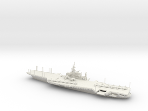 USS Midway in White Strong & Flexible