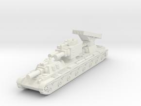 Russian KV-VI Behemoth (1/285) Qty 1 in White Natural Versatile Plastic