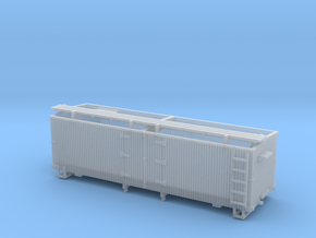 HOn3 25ft Reefer (without hatches) in Smooth Fine Detail Plastic