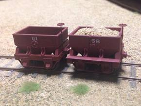 Virginia & Truckee Built Ore Car (HO Scale) in Smooth Fine Detail Plastic: 1:87.1