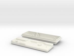 Gas Tank in White Natural Versatile Plastic