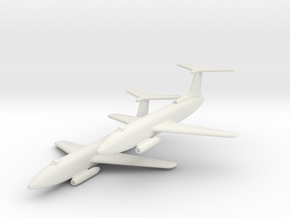 Martin XB-51 Pair (In Flight) 1/285 6mm in White Natural Versatile Plastic