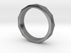 Engineers Ring - US Size 6.5 in Polished Silver