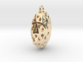 Star Light in 14k Gold Plated Brass
