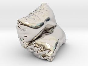 Mini Cushion in Platinum