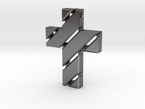 Cross  in Polished Nickel Steel