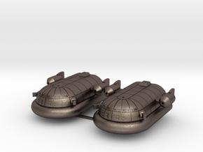 Maxmillian Hover Transport (Short Range Missiles in Polished Bronzed Silver Steel