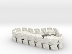 Ork Steam Style Track Set OPH in White Natural Versatile Plastic