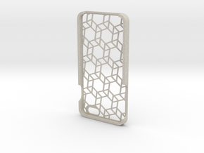 iPhone 6 Plus geometric case in Natural Sandstone