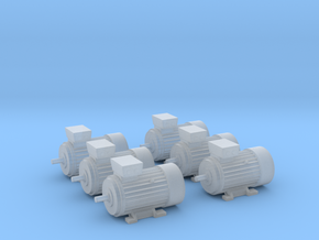 Electric Motor Size 2 (6pc) in Frosted Ultra Detail