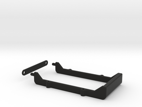 Yokomo DIB Shorty Lipo Mount in Black Strong & Flexible