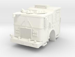 1/64 FDNY KME Pumper Cab in White Processed Versatile Plastic