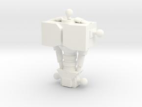 Copy Of Amazing Lappi-bombul (3) in White Processed Versatile Plastic