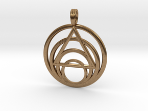 ISLAND PARADISE (light) in Natural Brass