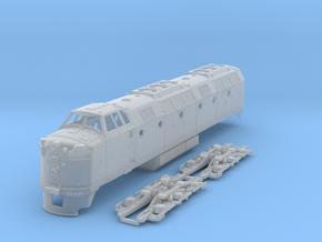 Krauss-Maffei ML4000 1:120 Scale in Smooth Fine Detail Plastic