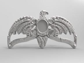 Harry  potter Size 10 eagle ring in Fine Detail Polished Silver