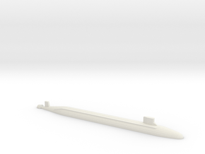 USS Jimmy Carter SSN, 1/1800 in White Natural Versatile Plastic