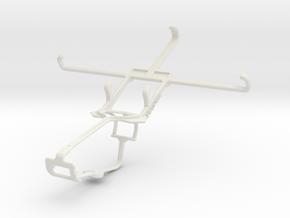 Controller mount for Xbox One & Alcatel Flash in White Natural Versatile Plastic