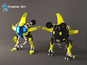 Starfish Bot  in White Strong & Flexible