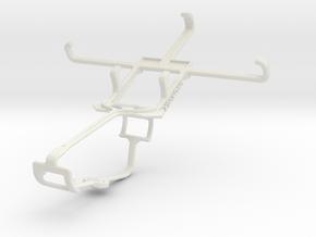 Controller mount for Xbox One & Archos 40b Titaniu in White Natural Versatile Plastic