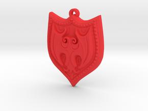 HEETER pendant  in Red Processed Versatile Plastic