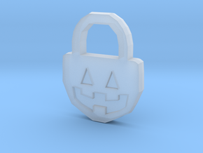 Halloween Pumpkin - Necklace in Smooth Fine Detail Plastic