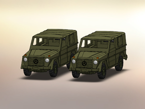 2x MB Wolf  Mercedes G 1:144 in Frosted Ultra Detail