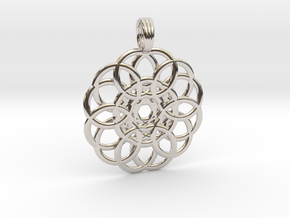WELLSPRING in Rhodium Plated