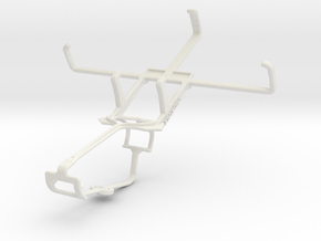 Controller mount for Xbox One & Icemobile Gravity  in White Natural Versatile Plastic