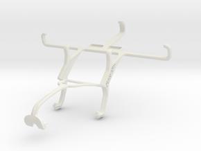 Controller mount for Xbox 360 & Karbonn Sparkle V in White Natural Versatile Plastic