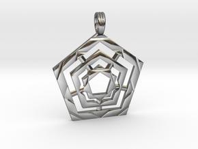 PENTAGON POWER in Premium Silver