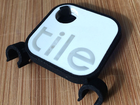 Tile Stealth Bike Tracker (Clip - Old Tile) in Black Natural Versatile Plastic
