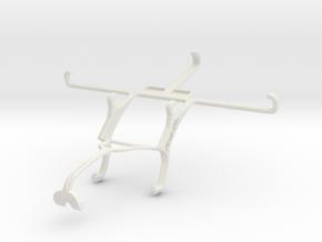 Controller mount for Xbox 360 & Meizu PRO 5 in White Natural Versatile Plastic