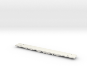 Amfleet Chassis Generic N Scale in White Strong & Flexible