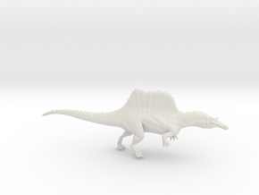 Spinosaurus   in White Strong & Flexible