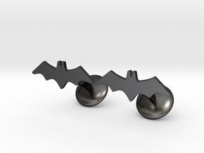 Batman Vengeance Cufflink in Polished and Bronzed Black Steel
